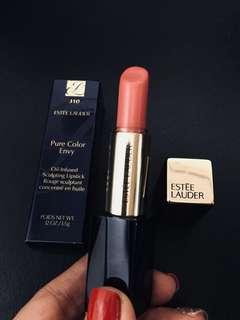 Authentic Estée Lauder sculpting envy lipstick in 310 potent ( used once)