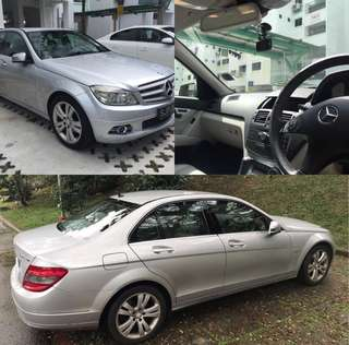 Mercedes-Benz C200 For Rent
