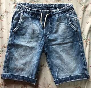 H&M denim shorts 12/13y