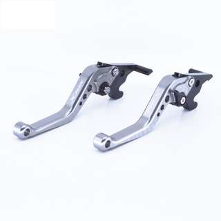 Brand New Pair Of Silver Yamaha Xmax Adjustable Brake Levers