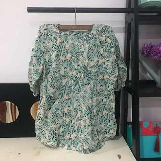 Juana Printed Blouse