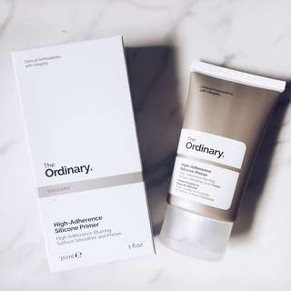 The Ordinary High Adherence Silicon Primee