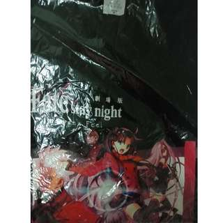 Fate Stay Night Odex film festival anime shirt M size