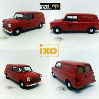 morris mini van (royal mail)