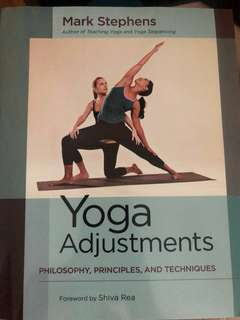 🚚 Yoga adjustment philosopy, principles and techniques by Mark Stephens