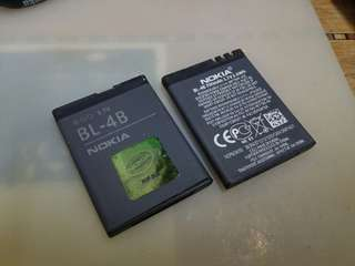 Nokia battery BL- 4B 手機電池