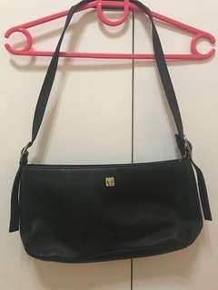 Authentic Etienne Aigner genuine leather shoulder bag