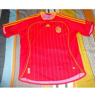Spain World Cup Football Soccer Jersey