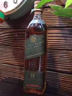 Johnnie Walker Green Label 15 年舊酒