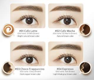 (Instock) Eyebrow Tint Pack