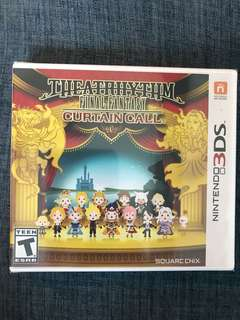 🚚 3DS Theatrhythm Final Fantasy Curtain Call