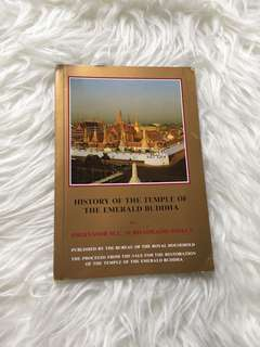 History of The Temples of Emerald Buddha
