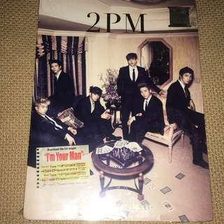 2PM - I'm Your Man JAPAN SINGLE (SEALED)