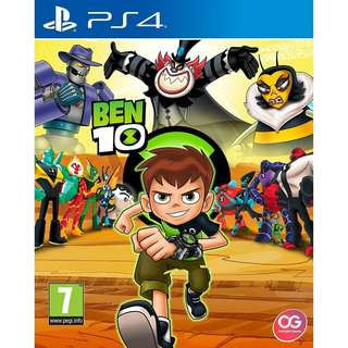[NEW NOT USED] PS4 Ben 10 Sony PlayStation Outright Action Games