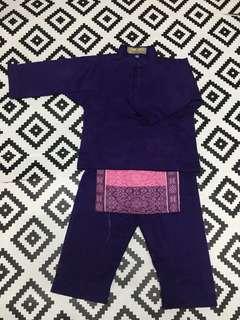 Baju Melayu - Purple