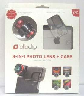 OLLOCLIP 4 in 1 photo lens plus case