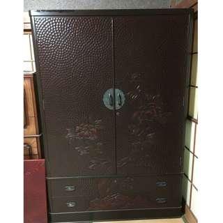 日本惠仙鎌倉雕和箪笥 經濟大臣指定傳統工藝品