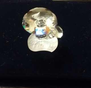 施華諾世奇水晶擺件1989年產(小草菇)