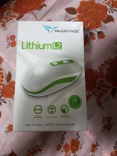 Alcatroz Lithium l2 wireless mouse