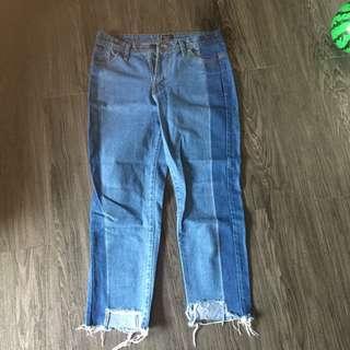 2 Tone Rebel Jeans