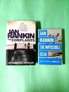 The Inspector Malcolm Fox duology by Ian Rankin