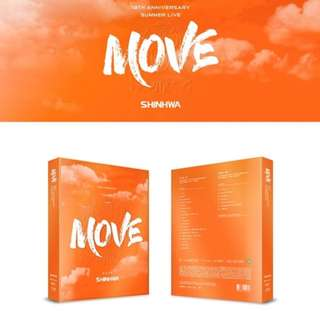 [Pre-order] SHINHWA 신화 - 19TH ANNIVERSARY SUMMER LIVE [MOVE] BLU RAY (2 DISC)