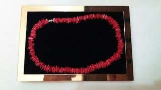 Red Choker Necklace