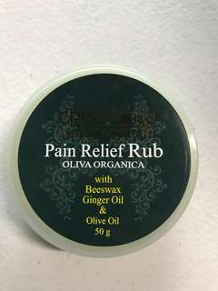 Pain Relief Rub (Oliva Organica)