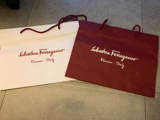 Salvatore Ferragamo 紙袋