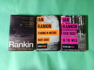 The Inspector Rebus series by Ian Rankin