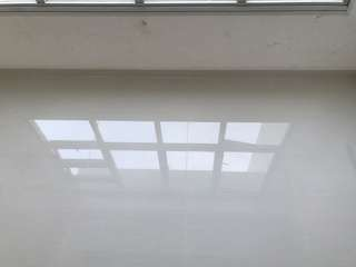 Tiling, direct tiler, cement screed, epoxy painting