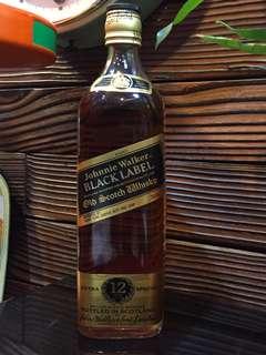 Johnnie Walker 黑牌舊酒