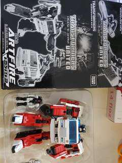 Transformers United  Exclusive  Artfire Targetmaster