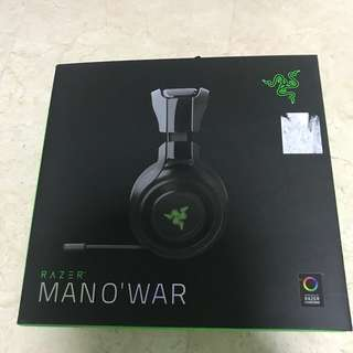 Razer Man-o-war wireless gaming headset