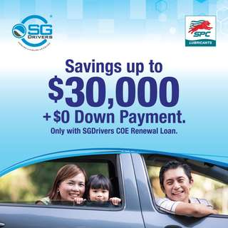 ⛽SPC COE Renewal Loan @SGDrivers!⛽