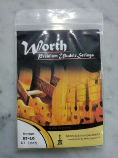 Worth Premium Ukelele Strings Tenor BT-LG