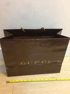 Gucci 紙袋