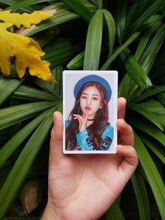 Twice (What Is Love?) Pre-order benefit Jihyo photocard