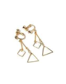 🆕 Made in Korea 三角夾式耳環