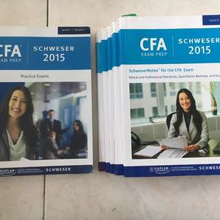 SchweserNotes CFA Level II Books