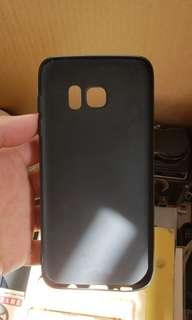 S7 edge 超薄軟殼 連i-ring