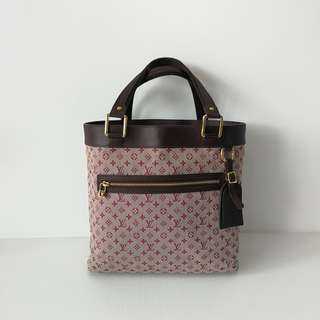 Authentic Louis Vuitton Minilin Tote Bag