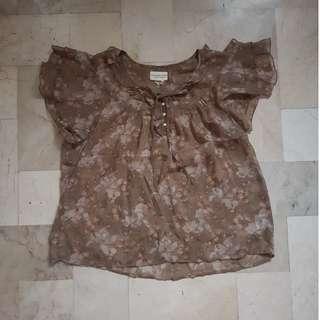 Ralph Lauren floral blouse
