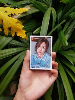 Twice (What Is Love?) Pre-order benefit Mina photocard