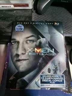 Xmen first class blu ray