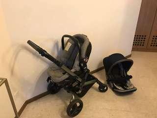 JANE - Rider 4-wheels Stroller