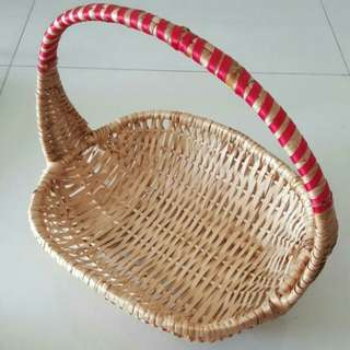 Big Hamper Basket With Handle