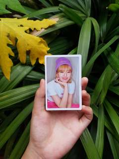 Twice (What Is Love?) Pre-order benefit Jeongyeon photocard
