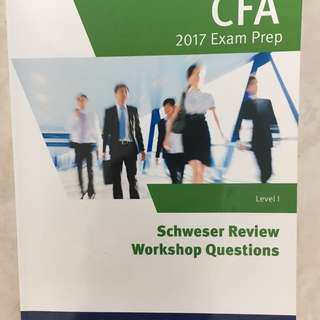 Schweser CFA Level I - 2017 Exam Prep