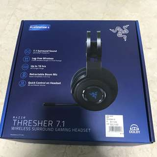 Razer Thresher 7.1 Wireless Headset for PS4